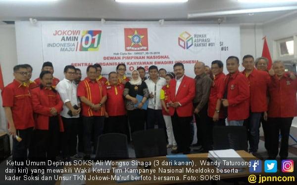 Strategi Garda Soksi Jokowi Dua Periode Menangkan Joko Widodo - JPNN.com