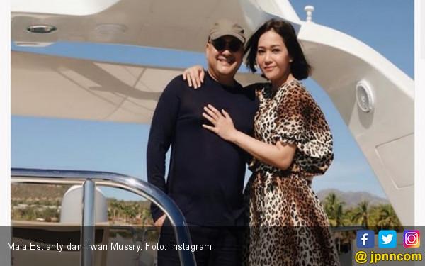 Setahun Menikah dengan Irwan Mussry, Maia: Jodohku adalah Kamu - JPNN.com