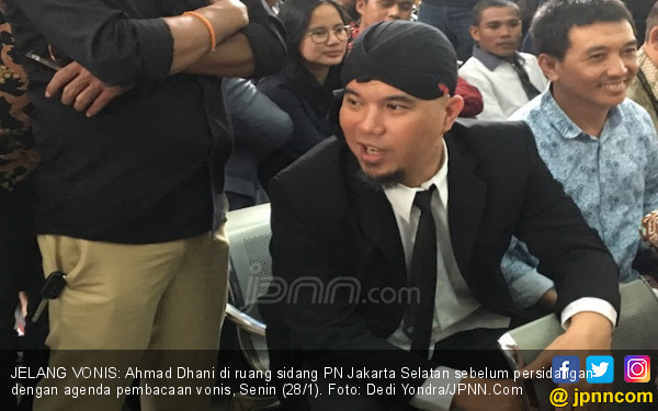 Usai Divonis Bersalah, Dhani Bilang Begini soal Ahok - JPNN.com