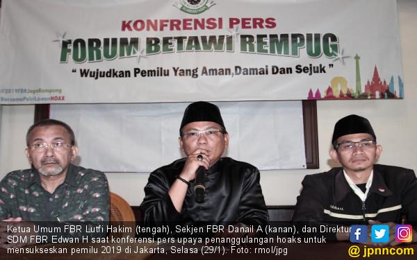 Jelang Pemilu, FBR Luncurkan Program Jaga Kampung untuk Tangkal Hoaks - JPNN.com