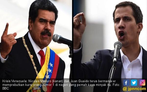 Sengketa Emas Rp 14,2 Triliun, Pengadilan Inggris Akui Juan Guaido Presiden Venezuela - JPNN.com