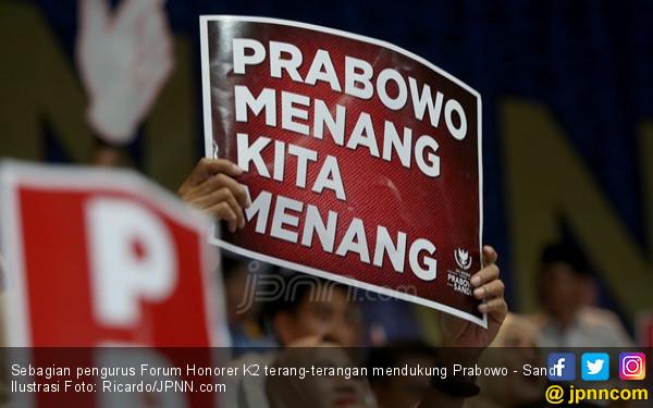 Ini Seruan untuk Honorer K2 Pendukung Prabowo - Sandi - JPNN.com