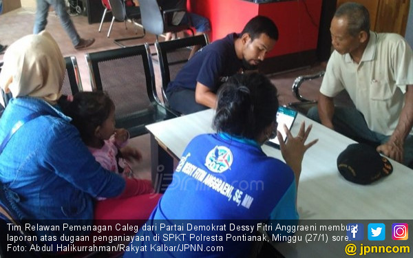 Relawan Caleg Partai Demokrat Diserang Sekelompok Orang - JPNN.COM