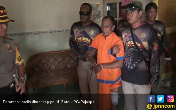Dooor! Ketua Geng Perampok Sadis Berhasil Dilumpuhkan - JPNN.com