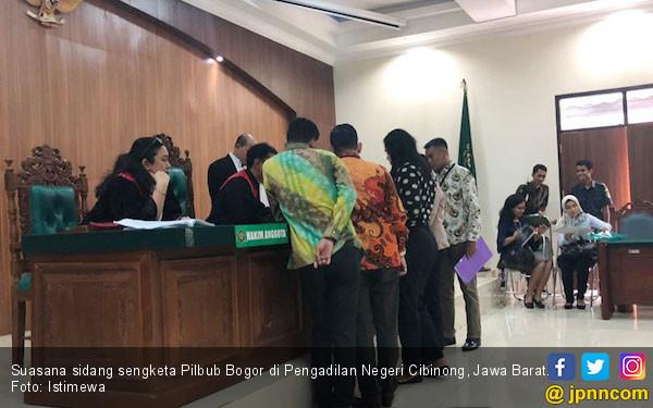 Sidang Sengketa Pilbup Bogor Masuki Tahap Mediasi - JPNN.COM
