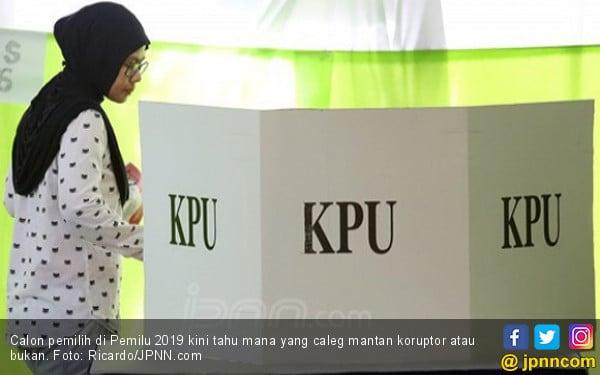 Namanya Diumumkan KPU, Caleg Mantan Koruptor Bisa Tempuh Jalur Hukum - JPNN.COM