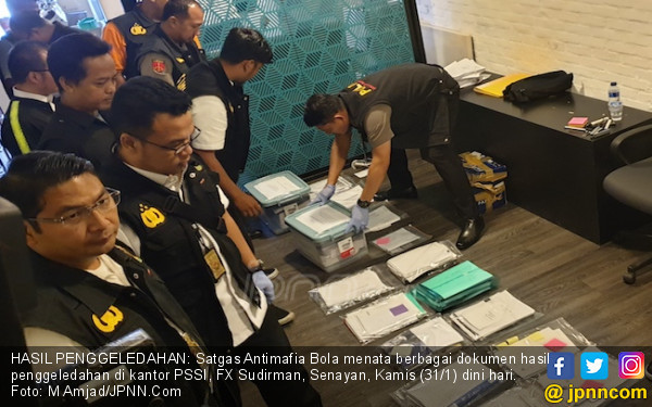 Geledah Kantor PSSI, Polisi Sita Bukti Transfer & Catatan Keuangan - JPNN.COM