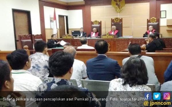 Eksepsi Bos PT MPL Ditolak, Kasus Aset Pemkab Tangerang Berlanjut - JPNN.COM