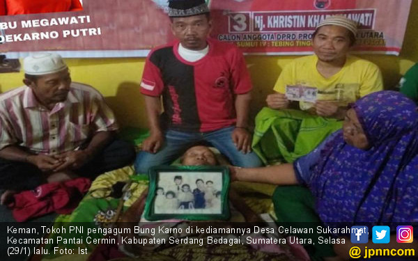 Khristin Kharismawati Kunjungi Tokoh Pengagum Bung Karno - JPNN.COM