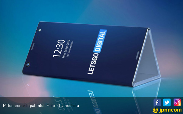 Intel Ketahuan Ajukan Paten Ponsel Lipat - JPNN.COM