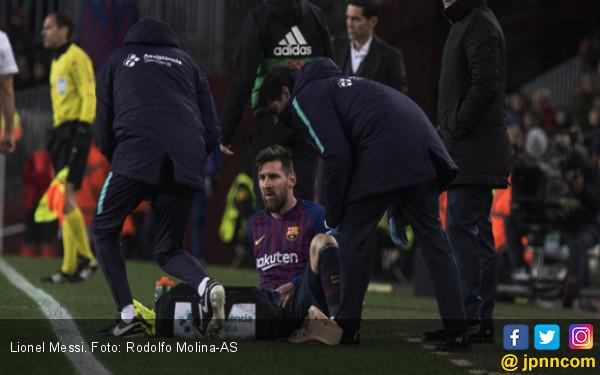 Lionel Messi Belum Pasti Bisa Tampil di El Clasico Kamis Nanti - JPNN.com