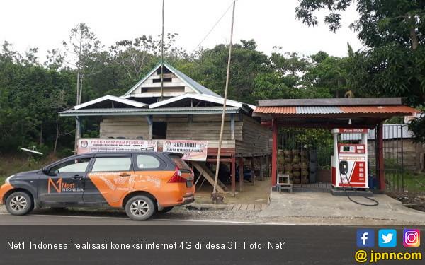 Net1 Indonesia Genjot Koneksi Internet 4G ke Pelosok Desa - JPNN.COM