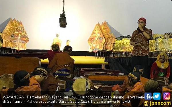 Caleg Rocker Wayangan di Permukiman Padat demi Menangkan Jokowi - JPNN.COM