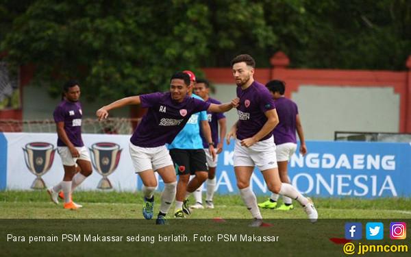 PSM Makassar Fokus Kembalikan Kondisi Fisik Pemain