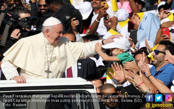 Bertolak ke Irak, Paus Fransiskus Bakal Kunjungi Bekas Markas ISIS - JPNN.com