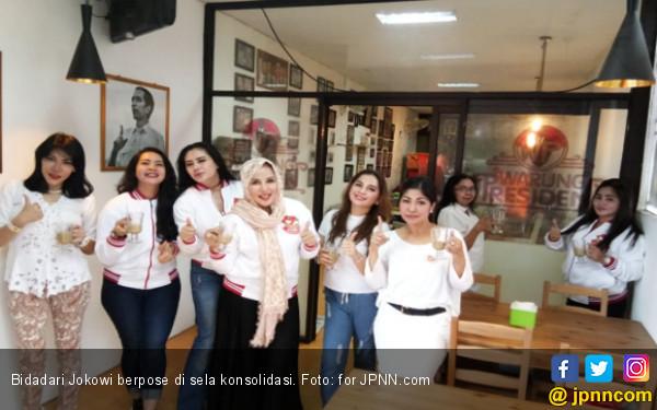 Baru Deklarasi, Bidadari Jokowi Langsung Action