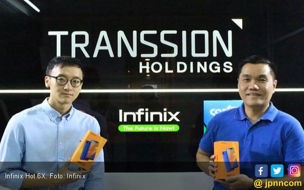 Goda Anak Muda, Infinix Hot 6X Dilepas Seharga Rp 1,5 Jutaan - JPNN.com