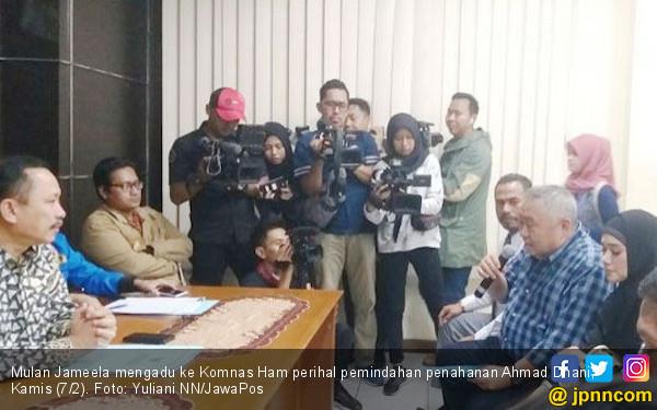 Penahanan Ahmad Dhani Dipindah, Mulan Jameela Ngadu ke Komnas HAM - JPNN.COM