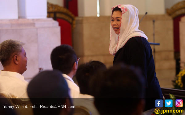 Yenny Wahid jadi Komisaris Independen Garuda, Erick Thohir: Enggak Usah Dipertanyakanlah - JPNN.com