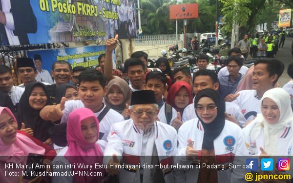 Kiai Ma'ruf: Masyarakat Bertanggung Jawab Pilih Pemimpin - JPNN.COM