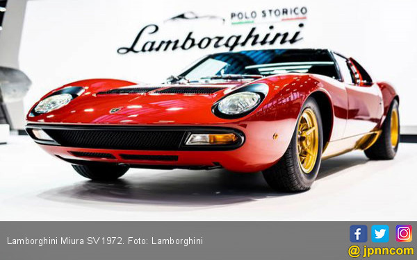 Menikmati Kelahiran Kembali Lamborghini Miura SV 1972 - JPNN.COM