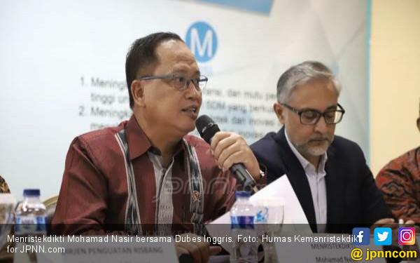 Indonesia - Inggris Kerja Sama Riset Kebencanaan