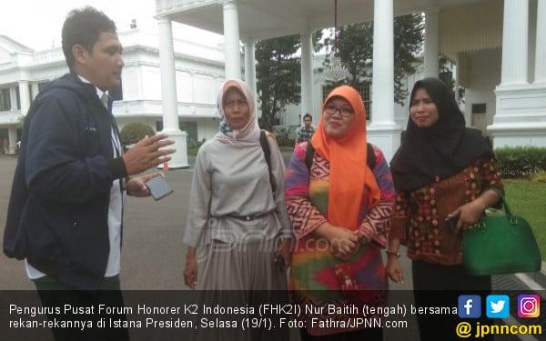 Belasan Ribu Honorer K2 DKI Jakarta Selalu Resah di Akhir Tahun - JPNN.com