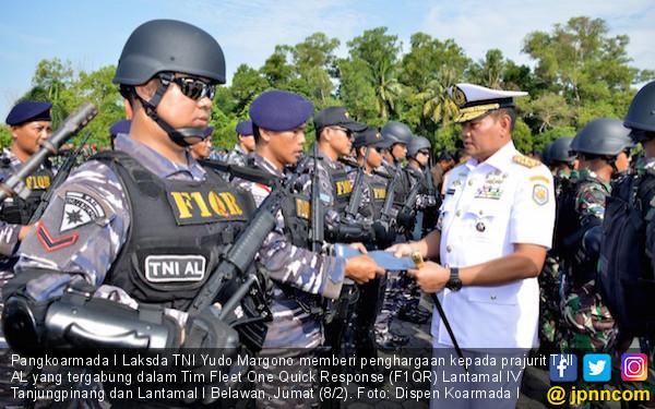 Hebat! Prajurit TNI AL Ini Terima Penghargaan dari Panglima - JPNN.COM