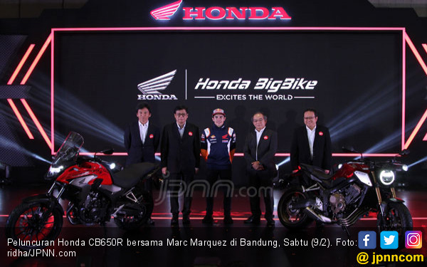 Honda Perbarui 4 Moge 500 cc Sekaligus, Kode Penetrasi - JPNN.COM