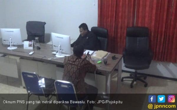 Sering Kirim Pesan soal Prabowo - Sandi di WA, Oknum PNS Diperiksa Bawaslu