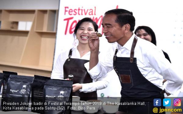 Jokowi: Masa Depan Milik Orang Berani