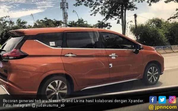 Bocor! Generasi Terbaru Nissan Grand Livina Kembaran Xpander - JPNN.COM