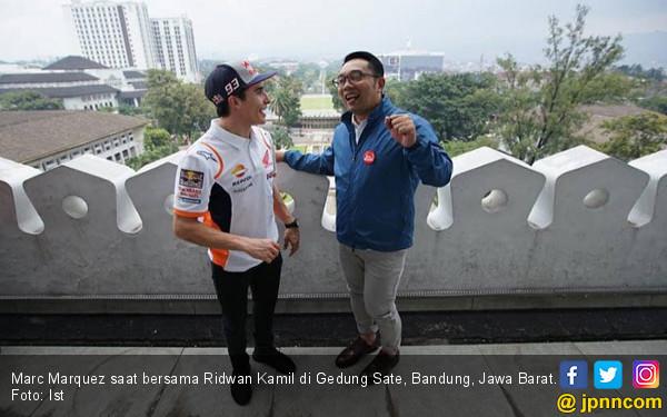 Optimistis di Seri Pembuka MotoGP 2019, Marquez Fokus di Torsi Honda RC213V - JPNN.COM
