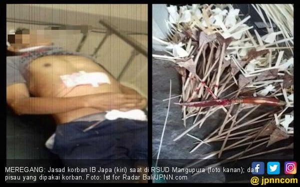 Sadis! Seorang Pria Nekat Tusuk Dada Sendiri Hingga Tewas - JPNN.COM