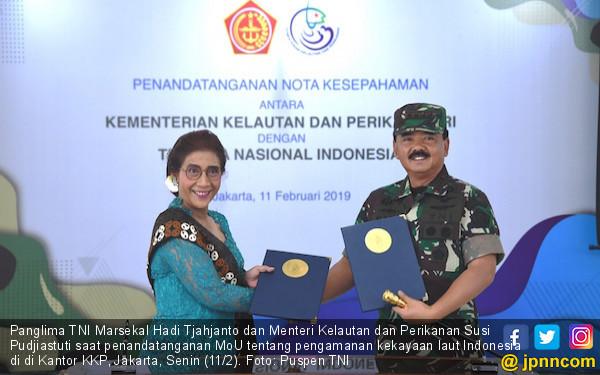 Top! TNI – KKP Bersinergi Amankan Kekayaan Laut Indonesia - JPNN.COM