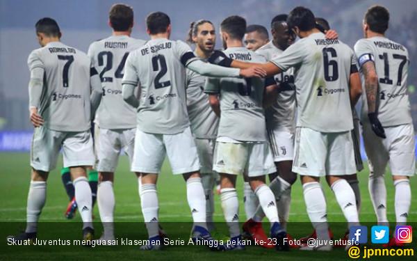 Hasil Pertandingan dan Klasemen Serie A di Pekan ke-23 - JPNN.COM