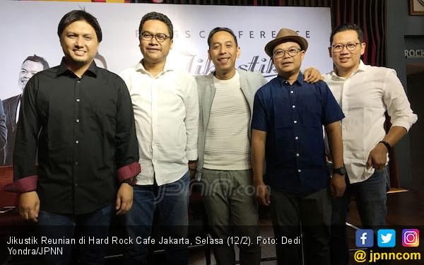 10 Tahun Tak Bertegur Sapa, Jikustik Akhirnya Gelar Konser Reunian - JPNN.COM