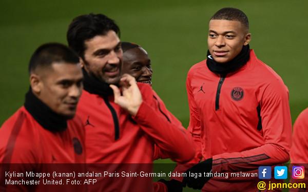 MU vs PSG: Tak Ada Neymar dan Cavani, Masih Ada Kylian Mbappe - JPNN.COM