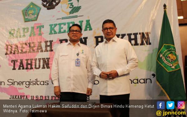 Menag Lukman Hakim Beber Arti Penting Pembaruan Data - JPNN.COM