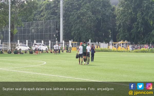 Cedera Bikin Septian Tercoret Dari Skuat Timnas Indonesia U-22 - JPNN.COM