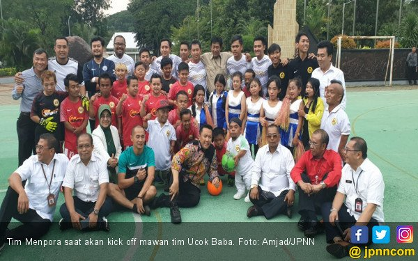 Tim Menpora Takluk dari Ucok Baba cs 5-3 - JPNN.COM