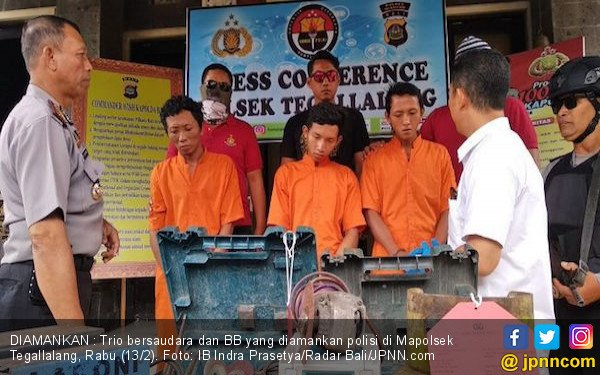 Bobol Bengkel Las Majikan, Trio Bersaudara Ini Ditangkap - JPNN.COM