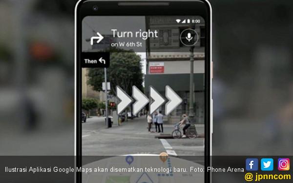 Ini Fitur Google Maps Baru untuk Pejalan Kaki - JPNN.COM