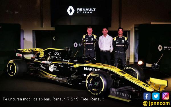 Tim Renault Optimistis Bisa Sejajar dengan Mercedes dan Ferrari di F1 2019 - JPNN.COM