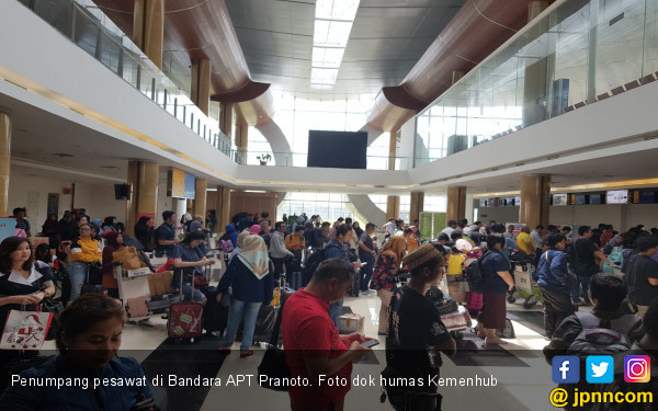 Penumpang Pesawat APT Pranoto Meningkat - JPNN.COM