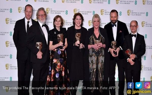 The Favourite Borong 7 BAFTA - JPNN.COM