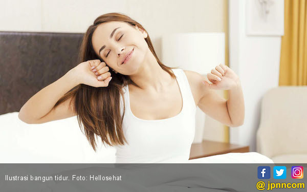 Orang-orang yang Suka Bangun Pagi Merasa Lebih Bahagia? - JPNN.COM