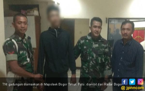 Mengaku Anggota TNI, Sekarang Wajib Lapor Senin Sampai Kamis ke Kantor Polisi - JPNN.com