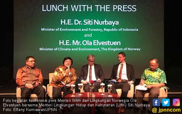 Indonesia-Norwegia Sepakat Tingkatkan Kerja Sama di Bidang Kehutanan dan Perubahan Iklim - JPNN.COM