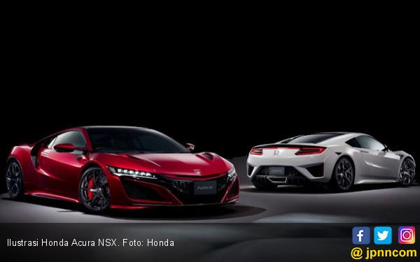 Gerbang Waktu 2 Generasi Honda Acura NSX di Chicago Auto Show 2019 - JPNN.com